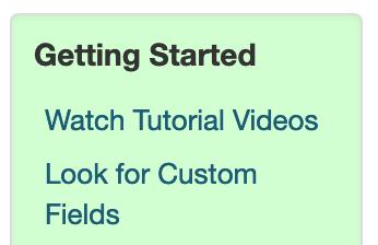 Custom Field Start